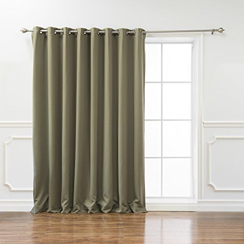 Best Home Fashion Wide Width Thermal Insulated Blackout Curtain Antique Bronze Insulated Blackout Curtains Panel Curtains Thermal Insulated Blackout Curtains