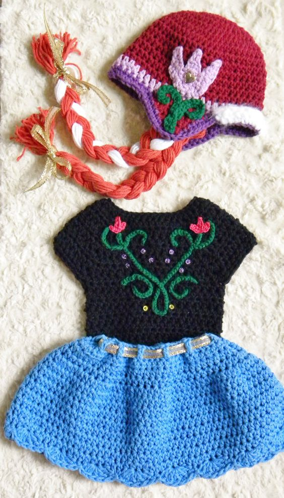 Free Crochet Patterns For Disney Hats : Disney, Crochet baby and Skirts on Pinterest