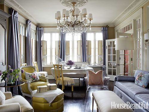 South Shore Decorating Blog: An Amazing, Colorful Kansas City Apartment from House Beautiful
