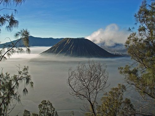 Mystische Landschaft auf Bali