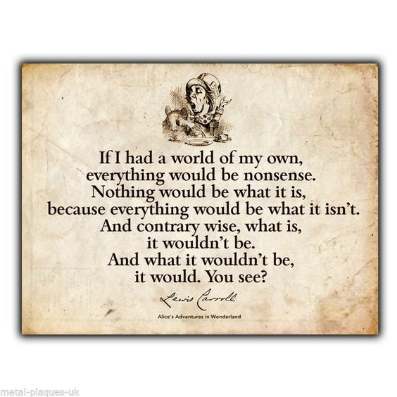 Alice In Wonderland Mad Hatter Quotes: Pinterest • The World's Catalog Of Ideas