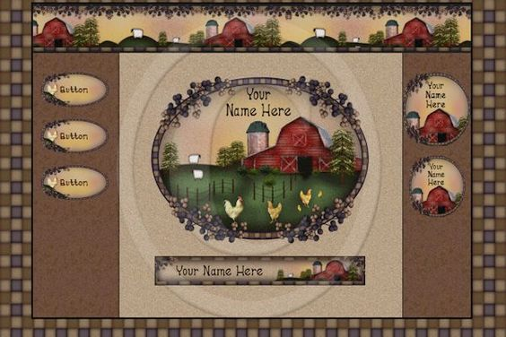 nice farm web graphics