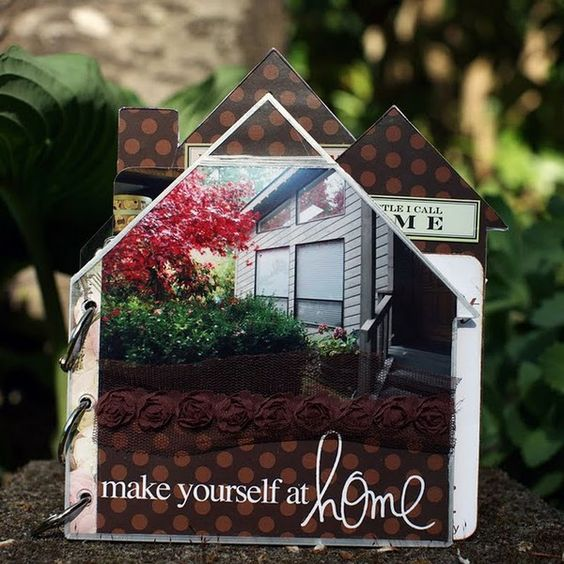 Cute album about your home