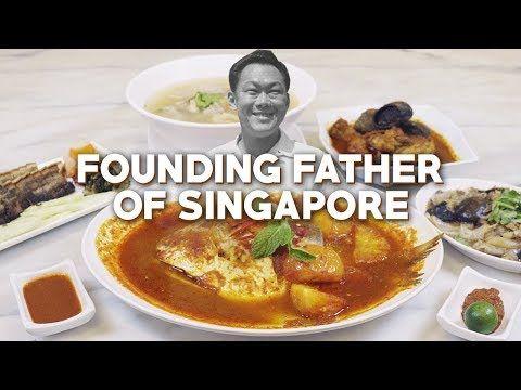 Lee Kuan Yew S Favourite Peranakan Restaurant That Almost Closed Down Guan Hoe Soon Restaurant Youtube In 2020 Peranakan Food Food Catering