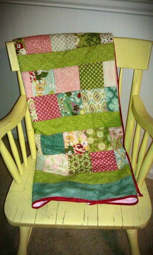 Hello Luscious! Moda Charm Pack Baby Quilt - QUILTING