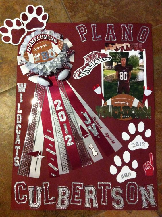 Football spirit, Homecoming week and Poster ideas on Pinterest