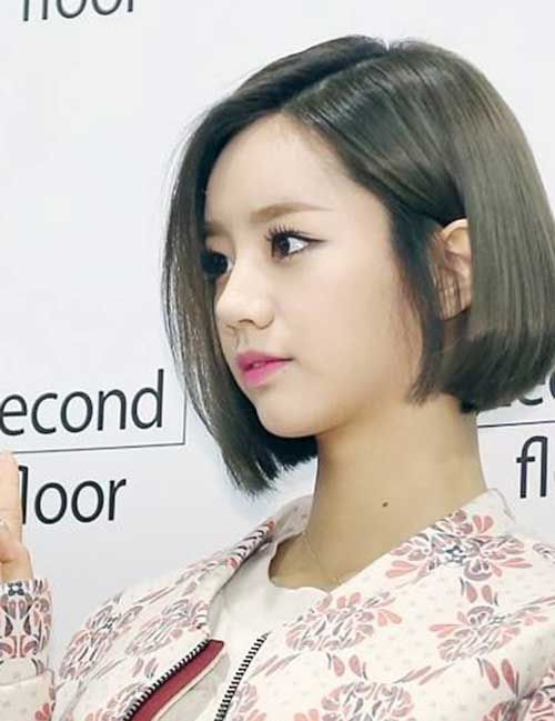 Korean Inverted Hair Idea Women Asian-Straight-Bob.j