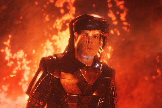 "Zachary Quinto as Spock in ""Star Trek IZachary Quinto as Spock in Star Trek Into Darknessnto Darkness"""