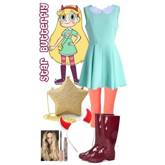 Star Butterfly from Star vs the forces of evil by crazydirectionergirl on Polyvore featuring Chicwish, prAna and Paul & Joe: