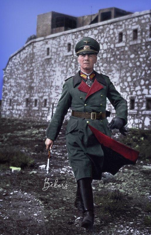 WW2 German General Field Marshal Rommel Picture