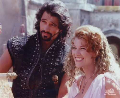 ares and aphrodite from herculesxena mighty aphodite