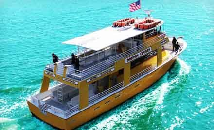 Groupon - Dolphin-Watching Cruise from The Sunny Lady Dolphin Cruise at The Wharf (Up to 55% Off). Three Options Available.. Groupon deal price: $5.00