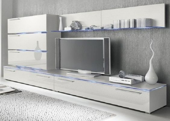 high gloss white wall mounted tv units with glass panels media center pinterest mounted tv tv units and glass panels