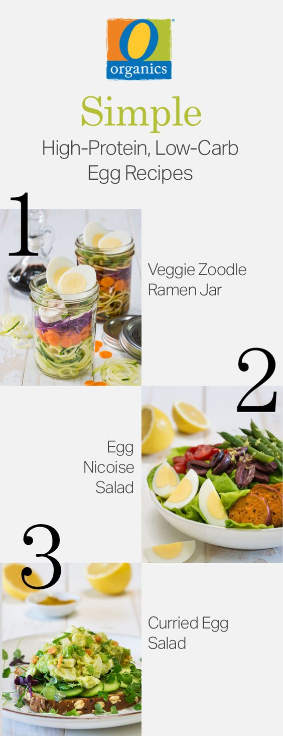 Keep it simple in 2017! These three O Organics® meal prepped recipes are high in protein and low in carbs!