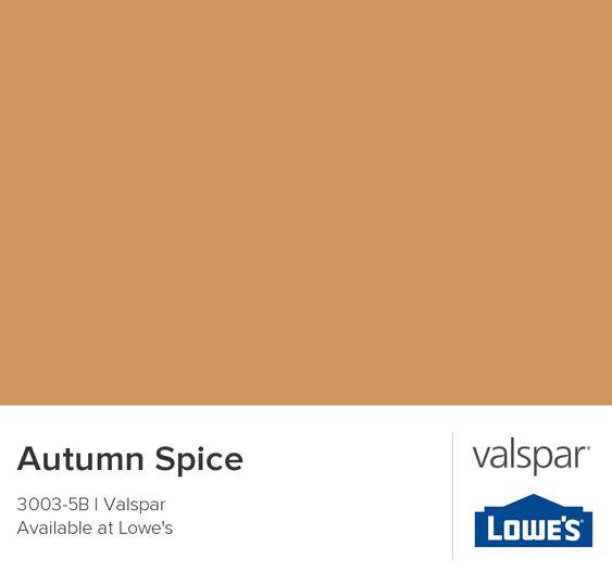 Autumn Spice From Valspar Color Chip Teal Paint Colors