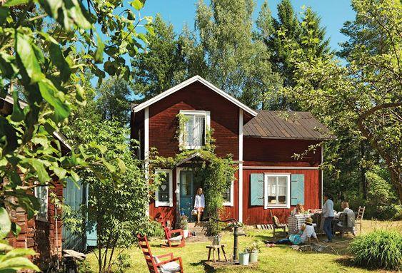 Casa De Campo Na Suécia!por Depósito Santa Mariah