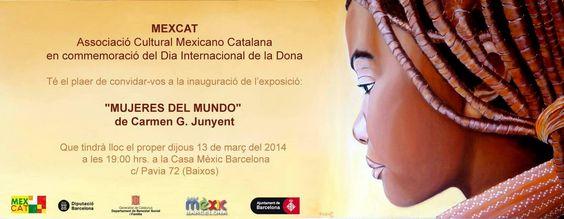 Exposición individual en CASA MÉXICO (MEXCAT) - Barcelona. Estáis invitados !