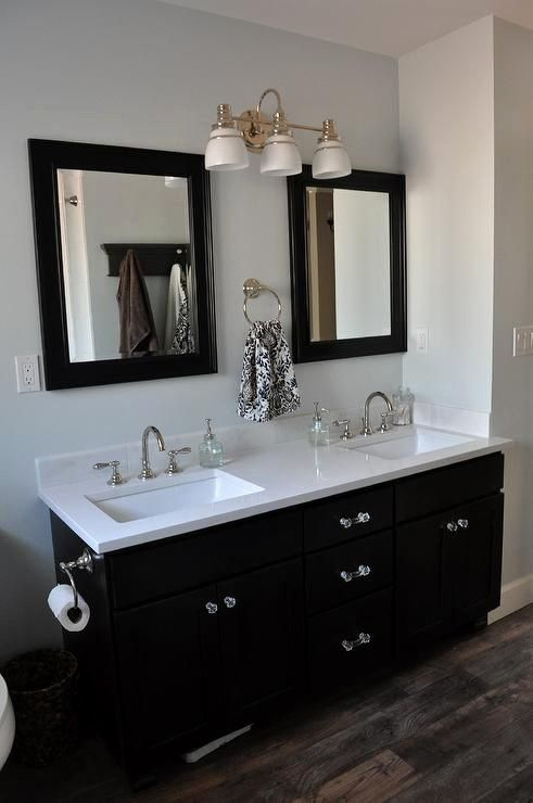 Double Sink Bathroom Vanity Decorating Ideas Beautiful Bathrooms Martha Stewart Morning Fog Cea In 2020 Vintage Bathroom Vanities Bathroom Vanity Decor Bathroom Vanity