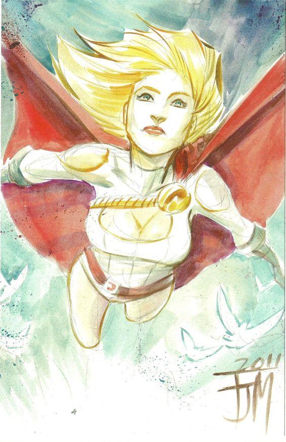 Power Girl by Francis Manapul
