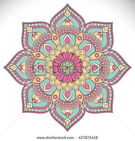 Mandala Vektor Mandala Blumen Mandala Blumen Mandala Orientalisches Mandala Farbe Mandalas Blumenma Mandala Kunst Mandala Design Mandala Doodle