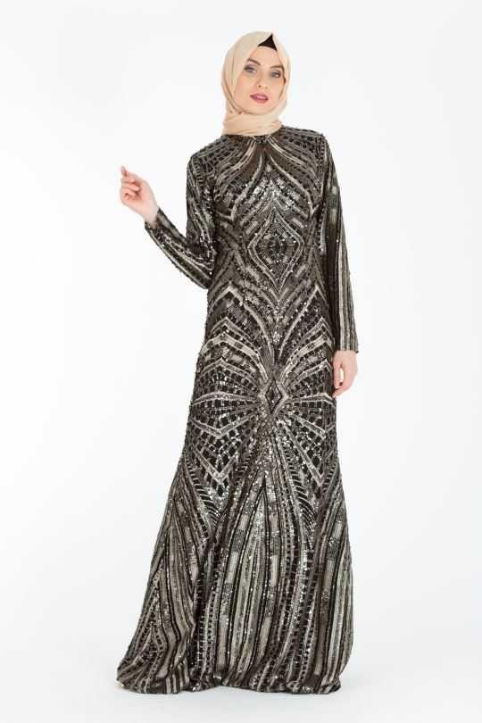 En Guzel Armine Tesettur Abiye Elbise Modelleri Moda Tesettur Giyim 2020 Elbise Modelleri Elbise Maksi Elbiseler
