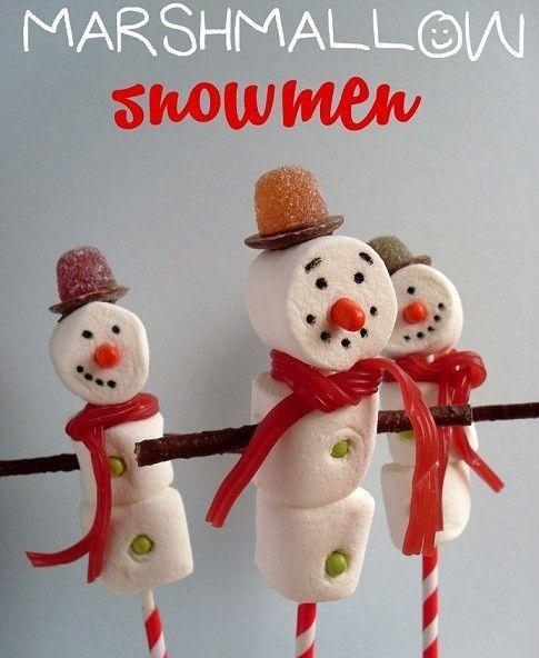 Adornos de Navidad hechos con chuches para la decoración