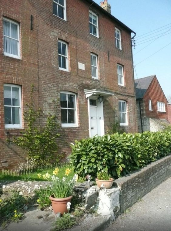 No 1 Rodmell House, Rodmell, nr Lewes, East Sussex. Bed and Breakfast Holiday in Britain.