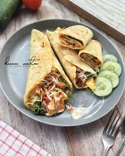 Resep Kulit Kebab Dan Ayam Suwir By Konicasumitro Resep Masakan Makanan Dan Minuman Resep Makanan