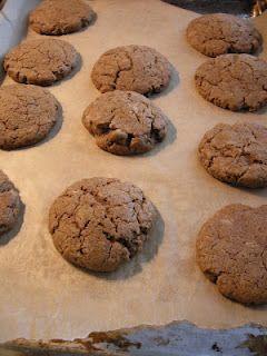 Molasses-Sweetened Ginger Snaps: