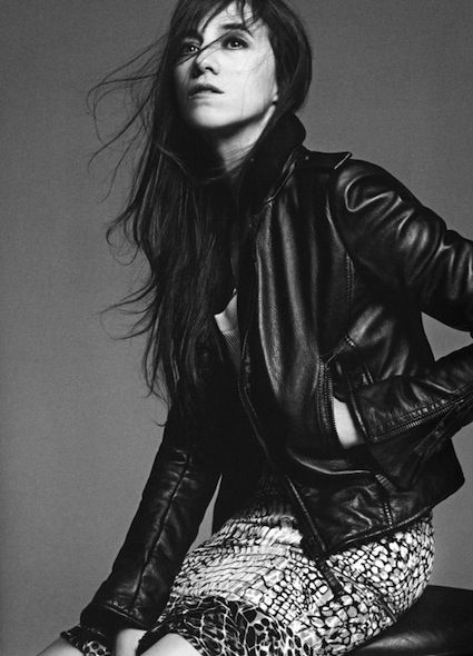 Charlotte Gainsbourg, the French actress and musician was photographed by Karim Sadli and styled in looks from Balenciaga S05 by Fashion Editor Marie-Amélie Sauvé