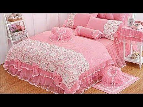 جديد موديلات مفارش السرير دراوات تحفة لكل عروس Youtube Bed Furniture Home Decor