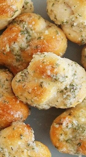 Quick & Easy Garlic Parmesan Knots