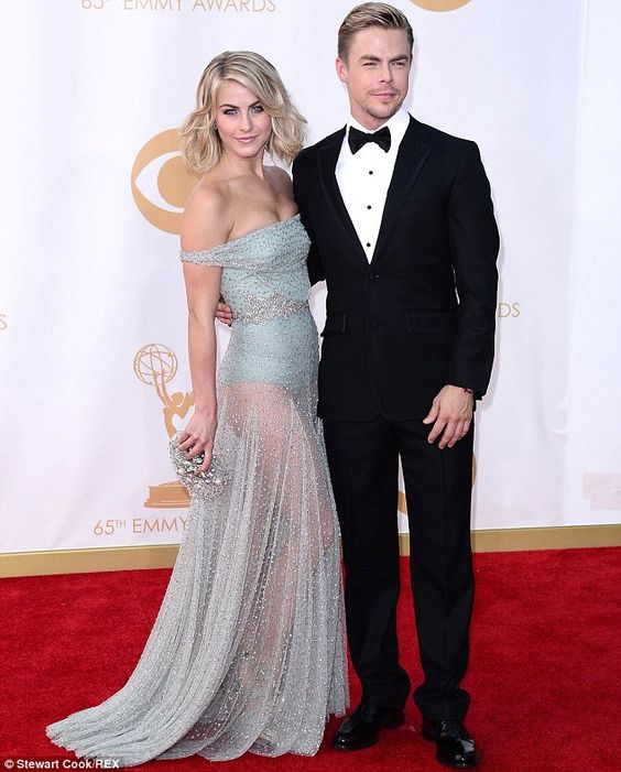 Dance duo: Dancing With The Stars pro siblings Derek and Julianne Hough