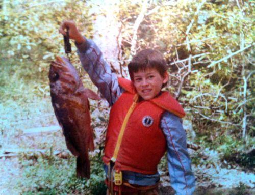 Secret Island, British Columbia, 1980Source: luckystrikes at Sportfishing BC