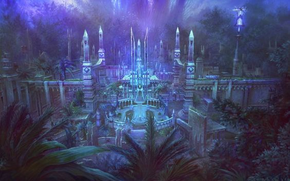 One of the many ruins of kingdoms long past, hidden in the jungles of the Meridain Sea.