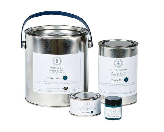 Oricalcum - Paint tins