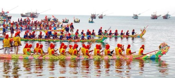 Lễ hội đua thuyền ở Singapore