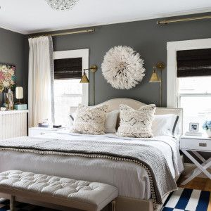 Sconces Window And Bed Between Windows On Pinterest