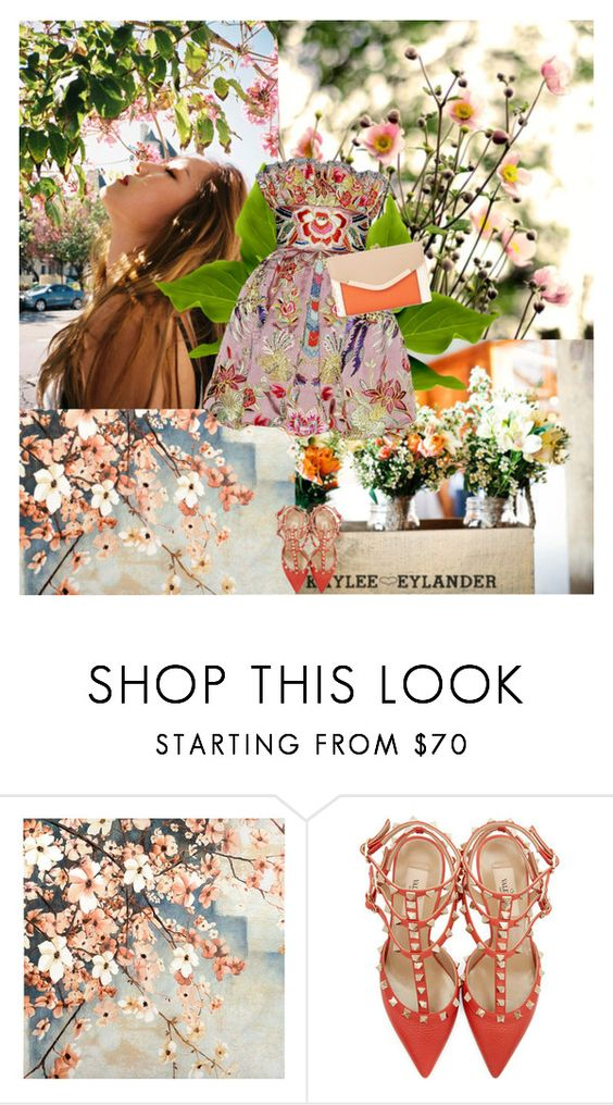 """Jessica"" by mirmin ❤ liked on Polyvore featuring Naeem Khan, Valentino and New Look"