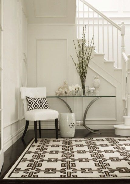 Foyer Rug Winter : Modern entryway decorating ideas for universal appeal