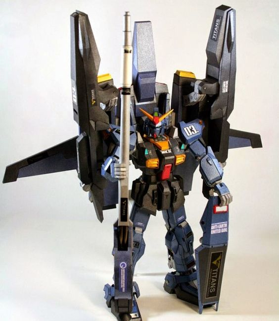 【MARINE CORPS】RX-178 Gundam Mk-II Titans - FXA-05D G-Defenser