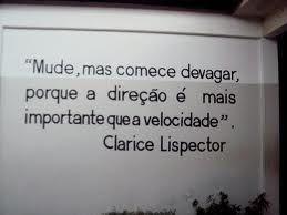 Claro que é Clarice....