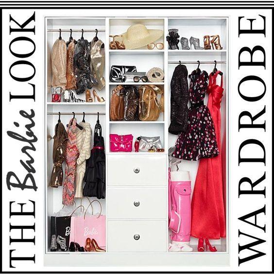 Barbie Wardrobe Mattel Barbie Collector Y3354