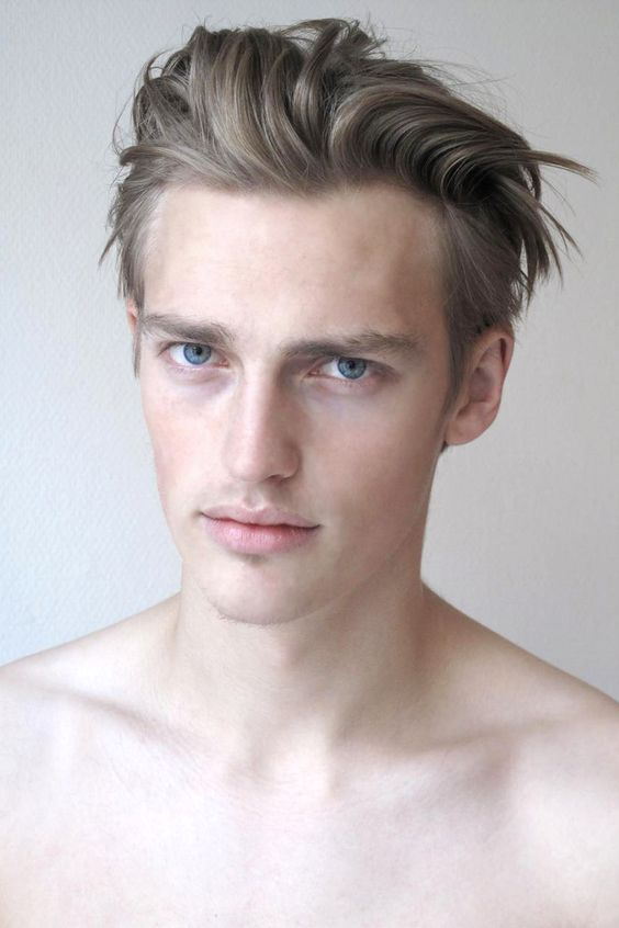Mens Hair, Model Victor Nylander.