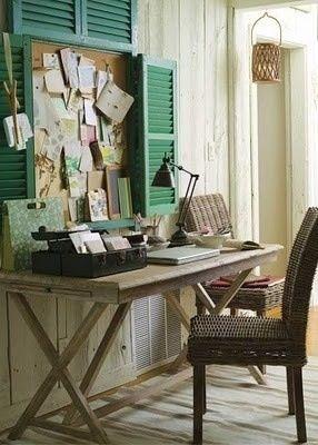 Lakberendezés inspiráció - Íróasztal és otthoni dolgozósarok - urban:eve