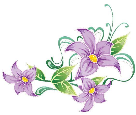 Flores Ilustraciones en PNG para Artesanía y Diseños Primavera: