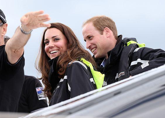 Kate y Guillermo de Inglaterra estarán presentes en la competencia de los mejores regatistas del mundo