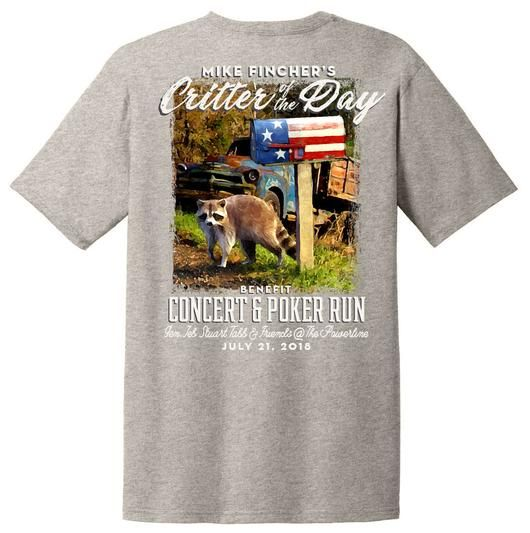 Critter Of The Day Fundraiser Tees After Hours Clothing Co