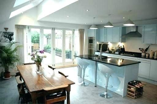 Galley Kitchen Track Lighting Ideas In 2020 Track Lighting Kitchen Victorian Kitchen Extension Kitchen