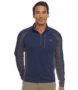 #LLBean: Ridge Runner Shirt, Long-Sleeve Quarter-Zip